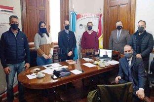 El Bloque de senadores de la UCR recibió al Ministro de Desarrollo Social Danilo Capitani