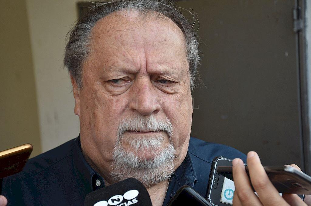 Pedro Bayúgar, titular del Sindicato Argentino de Docentes Particulares (SADOP Seccional Santa Fe. Crédito: Flavio Raina