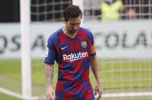 Aseguran que Messi interrumpió la negociación por la renovación de su contrato con Barcelona -  -