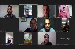 Encuentro virtual entre referentes de CREO y autoridades del norte de la provincia -  -