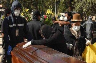 Los servicios fúnebres están al borde del colapso en Bolivia