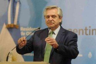 """""""Vamos a salir del default, de la pandemia y del patriarcado"""", afirmó el Presidente"""