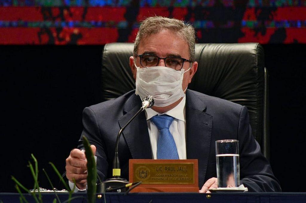La noticia la confirmó este viernes el gobernador de esa provincia, Raúl Jalil en su cuenta de Twitter.  Crédito: Archivo