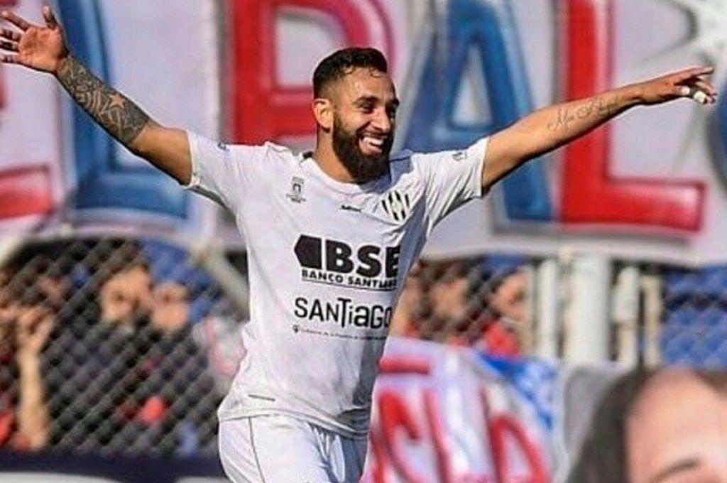 Acostumbrado a festejar. Jonathan Herrera llevará sus goles a San Lorenzo. Crédito: Archivo