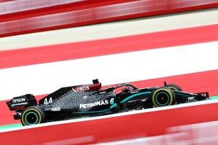 Hamilton y Mercedes dominaron los ensayos en Austria, donde el domingo corre la F1 -  -