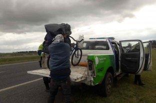 Joven viajó seis meses en bicicleta desde Paraguay para conocer el mar pero fue detenido