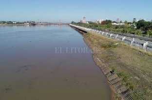El Río Paraná volvió a medir un metro en Santa Fe -  -