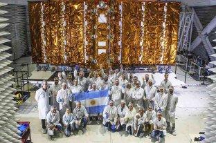 Científicos argentinos preparan el lanzamiento del satélite SAOCOM 1B