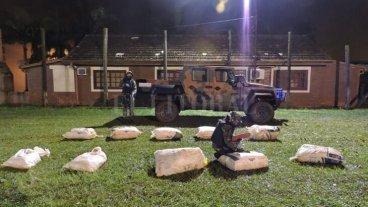 Misiones: Prefectura secuestró otros 120 kilos de marihuana