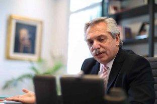 """Alberto Fernández: """"Unamos fuerzas para que, en unidad, superemos la pandemia"""" -  -"""