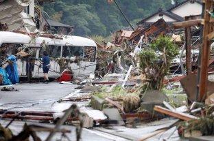 Intensifican las tareas de rescate en Japón tras el fuerte temporal