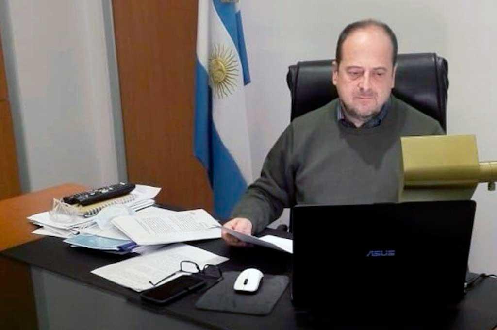 El secretario de Seguridad, Eduardo Villalba, dio positivo en coronavirus