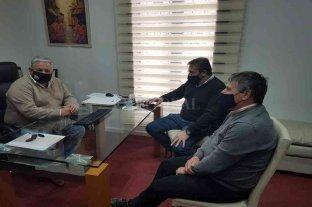 Nueva reunión entre el presidente comunal de Timbúes y funcionarios de Vialidad -  -