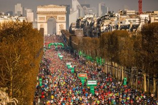 Aplazan el maratón de París para el mes de noviembre