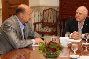 Perotti recibe a Lifschitz y a una comitiva del Frente Progresista - El gobernador y su antecesor en el cargo, actual presidente de la Cámara de Diputados, volverán a encontrarse este martes. -