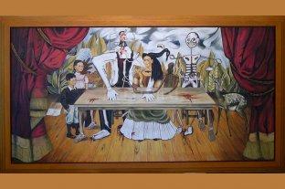 """Un español afirma tener en Londres """"La mesa herida"""", el cuadro perdido de Frida Kahlo"""