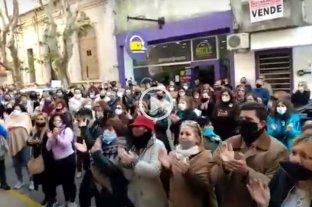 Concordia: vecinos se movilizaron por el crimen de la docente