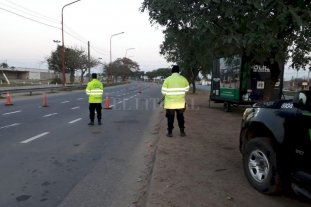 Intensos controles de Seguridad Vial