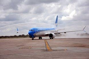 Aerolíneas Argentinas presentó una propuesta para comenzar a volar cabotaje desde Córdoba