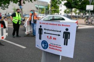 Alemania registró 390 nuevos casos de Covid-19