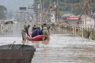 Decenas de muertos y desaparecidos tras las inundaciones en Japón