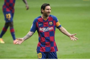 El presidente de Barcelona asegura la continuidad de Messi