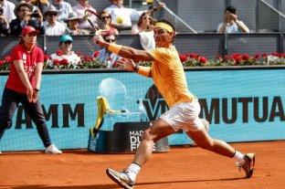 Nadal confirmó su presencia en el Masters 1000 de Madrid