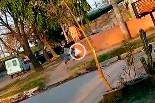 Video: a los tiros a plena luz del día en Rafaela -