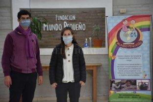 La Fundación Mundo Pequeño y su trabajo que no cesa en la pandemia - Caras visibles. Raúl Dalinger y su esposa Natalia Alfonso llevan adelante la Fundación Mundo Pequeño junto a un grupo de 30 colaboradores. -
