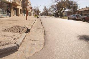 El bacheo de calle Pedro Vittori abarcará 9 cuadras