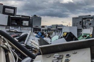 Naciones Unidas alertó que creció 21% en cinco años el volumen de residuos electrónicos