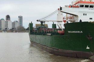 Reactivación portuaria: nuevo embarque de maíz desde el puerto de Santa Fe -  -