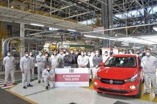 Fiat celebró los 100 mil Cronos