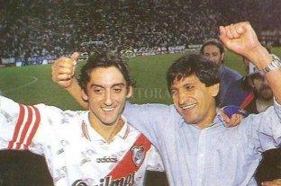 """El """"Pelado"""" Díaz debutaba como DT de River"""