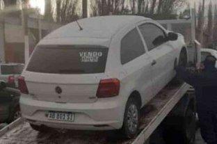 Caso Gutiérrez: secuestraron el auto perteneciente a uno de los detenidos - El vehículo Volkswagen Gol Trend secuestrado pertenece al detenido Facundo Gómez. -