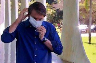 Bolsonaro será demandado por poner en riesgo a los periodistas tras anunciar su positivo de coronavirus -  -
