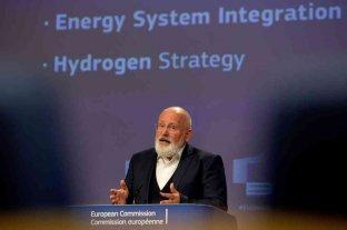 """La Unión Europea lanzó una """"estrategia"""" para generalizar el hidrógeno renovable en 2050"""