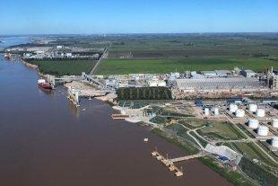 Inauguran una nueva terminal portuaria de ACA en Timbúes
