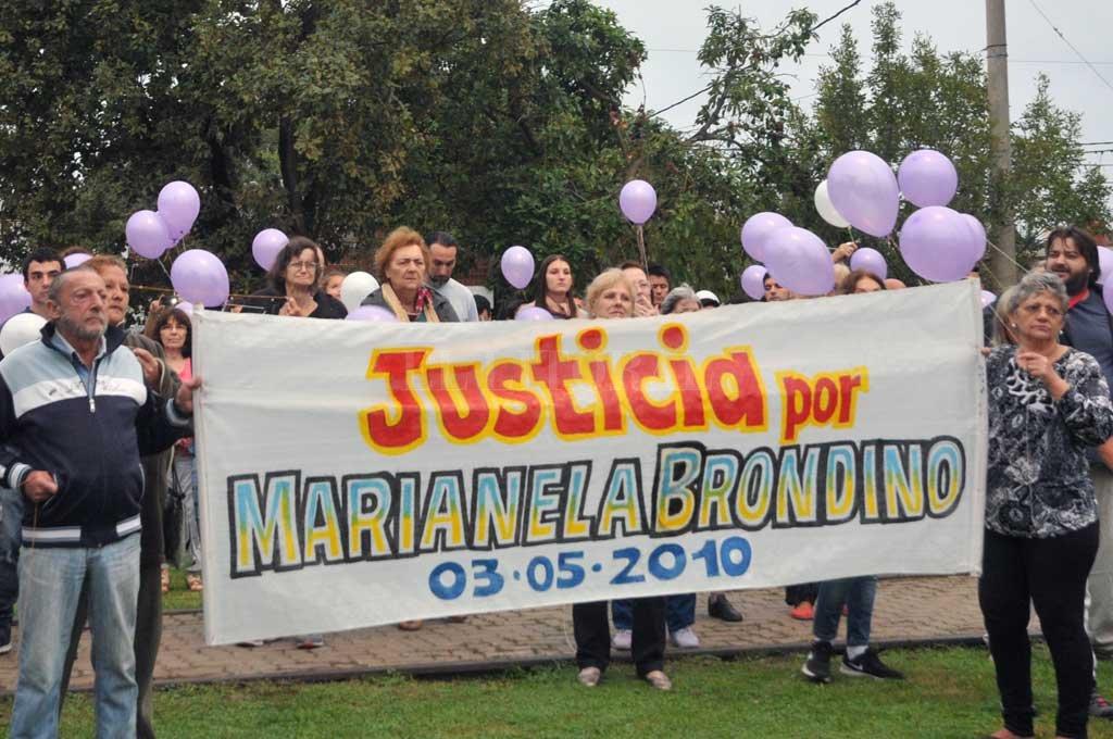 Incansable. La lucha de familiares y amigos de la víctima que nunca bajaron los brazos en su pedido de Justicia Crédito: Archivo El Litoral