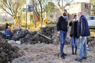 La Municipalidad limpió más de 32 mil metros de desagües pluviales