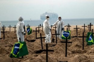 Brasil registró en las últimas 24 horas 1.312 nuevas muertes por coronavirus
