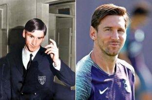 El increíble parecido de Messi con un famoso ex jugador y entrenador español