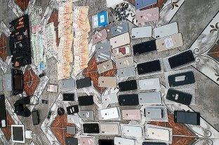 Buscaban un Iphone robado y descubrieron un bunker narco