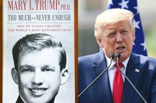 Un narcisista traumatizado: así ve su sobrina a Donald Trump en nuevo libro sobre el magnate