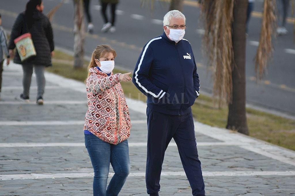 La ciudad de Santa Fe sumó un nuevo día sin casos de coronavirus.  Crédito: Manuel Fabatía