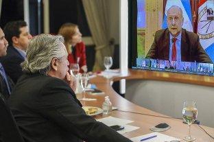 """Perotti resaltó la continuidad del IFE para """"paliar la difícil situación que atraviesan muchas familias"""" -  -"""
