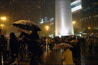 Se cumplen 13 años de la inolvidable nevada en Buenos Aires