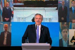 """""""El odio y la división nos posterga y paraliza"""", dijo el presidente en el acto por el 9 de Julio"""