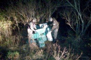 Encontraron 683 kilos de marihuana escondidos en un pastizal en Corrientes
