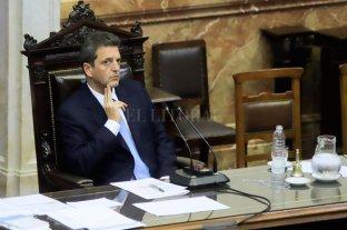 Massa pidió apoyo para leyes a gobernadores